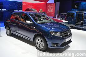 2018 renault stepway. fine stepway dacia logan special edition front three quarter view at 2015 geneva motow  show on 2018 renault stepway