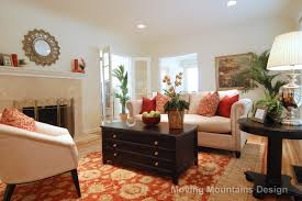 Living Room Staging South Pasadena Home Staging Moving Mountains Design Los