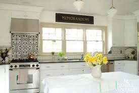 white cottage kitchens. I Really Love The New Look! White Cottage Kitchens