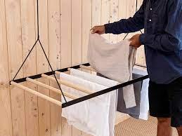 hanging laundry drying rack sheila maid
