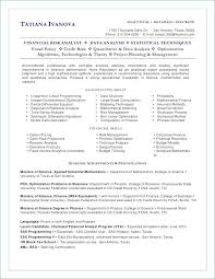Financial Analyst Resume Templates – Resume Web