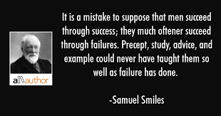 Success Quotes For Men Stunning It Is A Mistake To Suppose That Men Succeed Quote