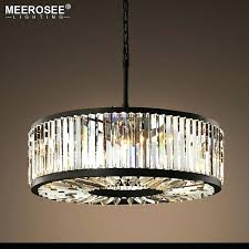 round crystal chandelier antique