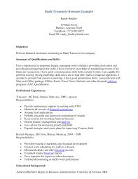 bank teller resume sample experience resumes bank teller resume sample for bank teller resume sample