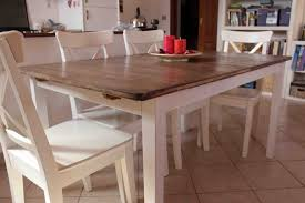 Hack a country kitchen style dining table - IKEA Hackers