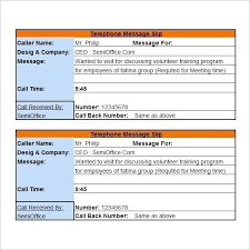 Call Back Template Customer Call Back Template Call Sheet Template Excel