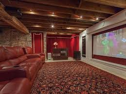 track lighting kits home theater industrial. amazing track lighting between rafters in basement makeover theatre remodel kits home theater industrial c
