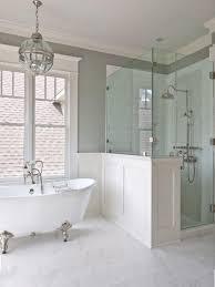 white silver clawfoot bathtubs for beautiful bathroom decoration ideas