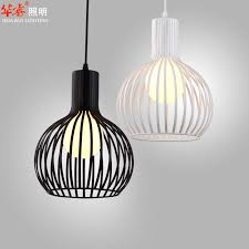 single head white and black wrought iron bird cage lamp with regard to contemporary house birdcage pendant light chandelier decor