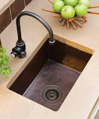 undermount bar sink. Soci Copper Bar Sink Undermount