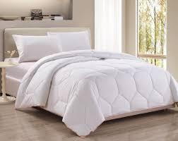 hexagonal pattern white down alternative comforter duvet insert queen orange border corner tabs help keep comforter from shifting inside duvet cover
