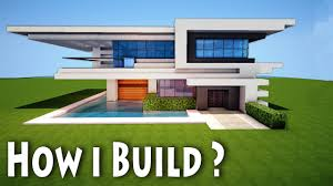 Minecraft: Birth of a Modern House / How I come up with House - Mansion  Ideas + DOWNLOAD - YouTube