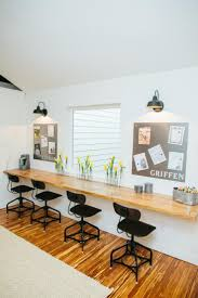 office desk home work. fixer upper bringing a modern coastal look to office desk home work