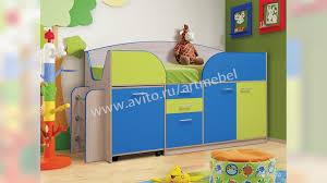 <b>Кровать детская</b> Юниор 4.1 с матрасом купить в Республике ...
