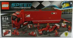 Lego 75913 ferrari truck f14, speed champion, ovp, komplett. F14 T Scuderia Ferrari Truck Set New In Box Sealed Lego Speed Champions 75913