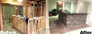 basement remodels before and after. Exellent And Basement Renovation  For Basement Remodels Before And After 1