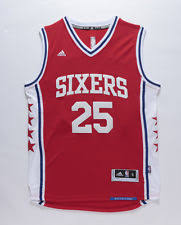 simmons jersey. ben simmons philadelphia 76ers #25 jersey red sizes s - 2xl all stitched