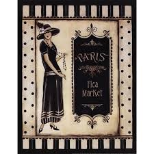 get ations paris flea market mini poster print by kimberly poloson 11 x 14