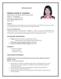 First Time Resume Template Resume Template First Part Time Job Puntogov Co