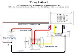 ammeter shunt wiring dakotanautica com ammeter shunt wiring amp gauge wiring diagram auto ammeter automotive meter dc shunt custom o diagrams