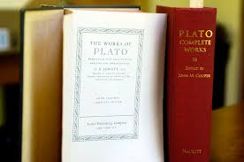 complete works of plato into the woods a couple of book reports