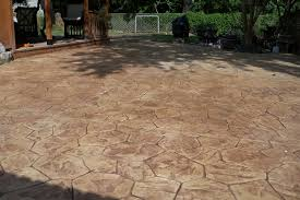 view in gallery backyard patio ideas with cool stamped concrete patio designs flooring options for backyard floor design
