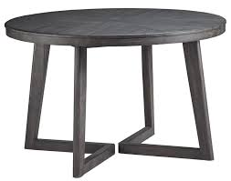 black round table. Besteneer Round Dining Room Table MJM Furniture Black