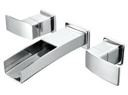 chrome wall mount faucet giagni contemporary polished chrome 3 handle wall mount bathtub faucet chrome finish