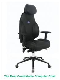 Plain Most Comfortable Computer Chair The Home Or Office On Creativity Design