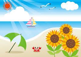 「無料イラスト夏」の画像検索結果