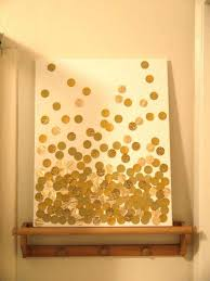 glitter wall decor best of diy glitter dots on canvas wall art would be cute in