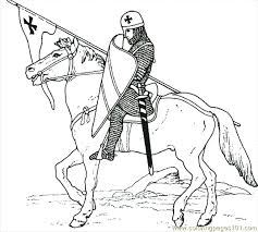 Small Picture Castle Knight Coloring Page 10 Coloring Page Free knights