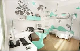 Cute Bedroom Ideas For College Students Dull Room Midcityeast Use Natural  Oak Flooring With Unusual Bunk Bed And Sectional Computer Desk