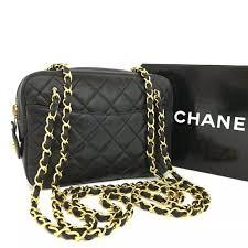 CHANEL - Chanel Quilted Matelasse Lambskin Chain Bag from Jewel's ... & Chanel Quilted Matelasse Lambskin Chain Bag Adamdwight.com