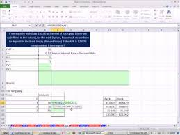 Excel Finance Class 32 Calculate Present Value Of Annuity Pv Function