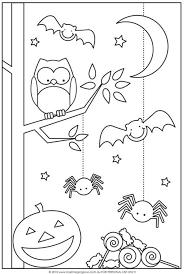 Halloween Coloring Pages For Kids print | jokingart.com Halloween ...
