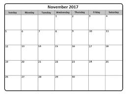monthly calenar november 2017 monthly calendar pagety com