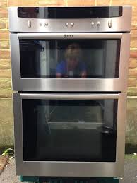 neff built in double oven u1644nogb spares or repair