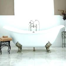 tub shower combo with a glass 2 person jacuzzi