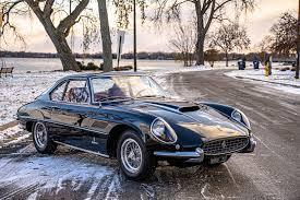 The first 400 superamerica, chassis #1517sa, appeared at the 1959 salon de torino as a coupé speciale for fiat. Ferrari 400 Superamerica Swb 2809 Sa Tom Hartley Jnr
