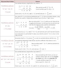 Naming Polynomials Chart Graphing And Finding Roots Of Polynomial Functions She