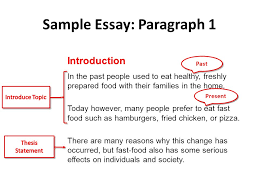 cause and effect essays cause and effect it s simple just four sample essay paragraph 1 introduction in the past people used to eat healthy freshly