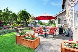 6 easy ways to clean a concrete patio