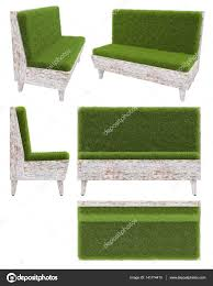 Sofa chair top view Chair Icon Sofa In Old Wood With Grass Cover Garden Furniture Top View Side View Depositphotos Sofa In Old Wood With Grass Cover Garden Furniture Top View Side