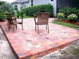 brick paver tile faux
