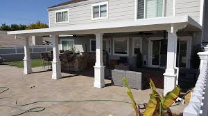 aluminum patio cover installation