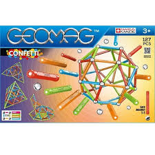 <b>Магнитный конструктор GEOMAG Confetti</b> 352-127 деталей ...