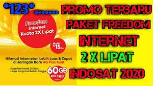 Indosat ooredoo telah banyak menawarkan sejumlah paket internet terbaik yang dapat anda pilih sesuai kebutuhan. Promo Kuota 2x Lipat Paket Freedom Internet Indosat 2020 Youtube
