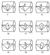 Toilet Paper Origami Flower Instructions Toilet Paper Origami Bird