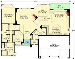 Frank Lloyd Wright Inspiration  20092GA  Architectural Designs Frank Lloyd Wright Floor Plan